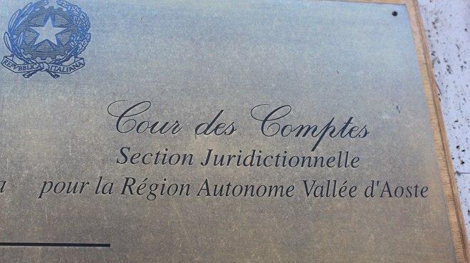 Corte dei conti sezione giurisdizionale della Valle d'Aosta