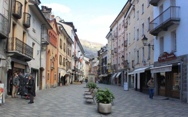 centro storico di Aosta