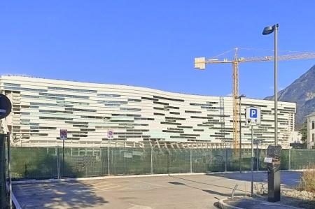 Polo Universitario in costruzione