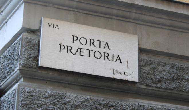 via Porta Pretoria