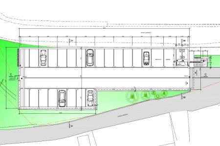 Progetto nuovo parcheggio
