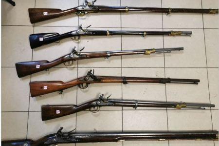 armi antiche sequestrate