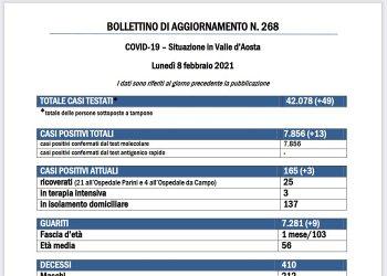Bollettino 8 febbraio