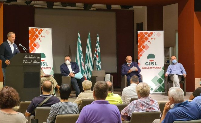 Consiglio generale Cisl Valle d'Aosta