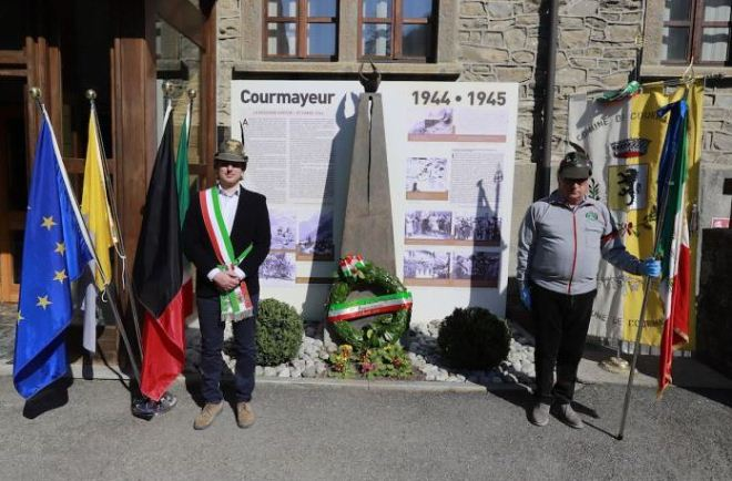 25 Aprile a Courmayeur