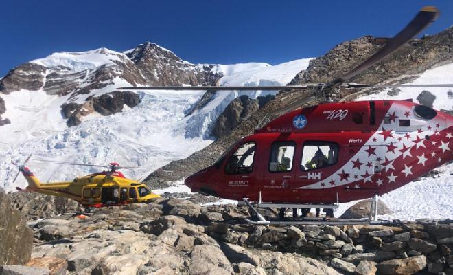 soccorso sul Monte Rosa