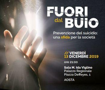 Convegno ad Aosta sulla prevenzione dei suicidio