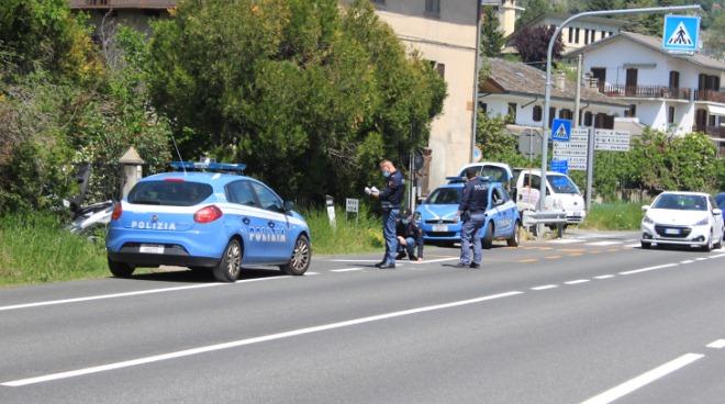 Incidente stradale a Sarre