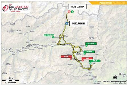 57° Giro ciclistico della Valle d'Aosta