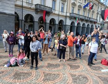 Manifestazione Aosta