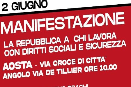 manifestazione 2 giugno