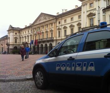Polizia ad Aosta