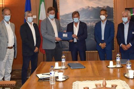 Roda incontra il governo regionale