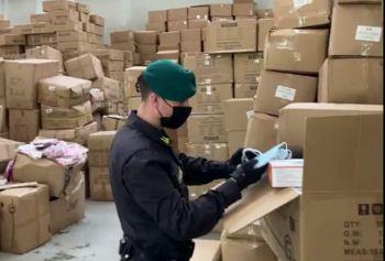 Sequestro mascherine (archivio)