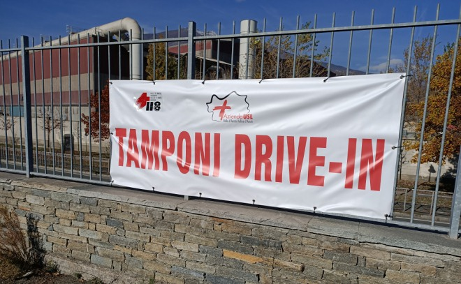 Tamponi drive in