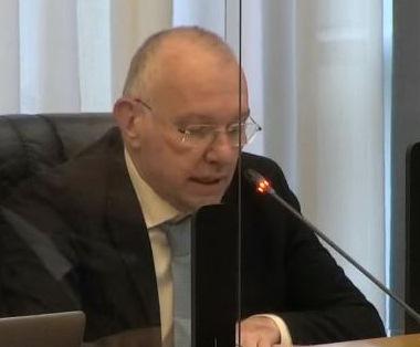Renzo Testolin in Consiglio regionale
