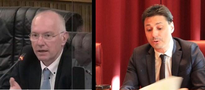 Renzo Testolin e Laurent Viérin