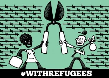 With Refugees