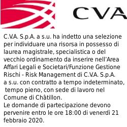 CVA Ricerca personale