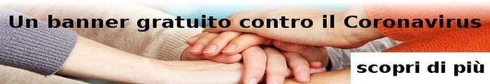un Banner gratuito su Aostaoggi.it contro il coronavirus