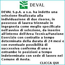 Annuncio di lavoro Deval