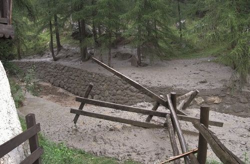Maltempo Valle d'Aosta: rientra l'emergenza a Ollomont ea Valtournenche