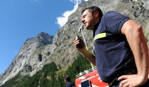 Aosta, dispersa guida alpina francese