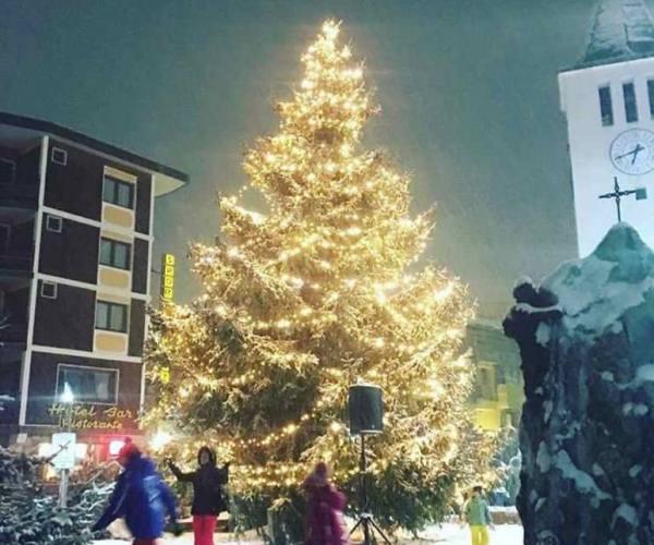 Albero di Natale Cervinia