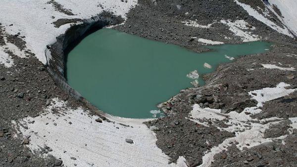 lago glaciale Grand Croux