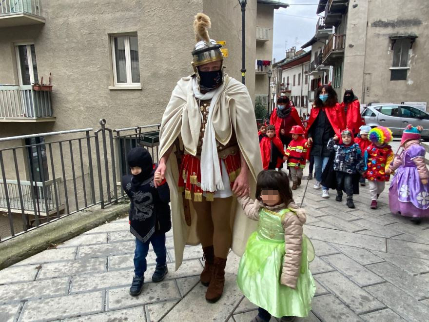 Carnevale dei piccoli a Pont-Saint-Martin
