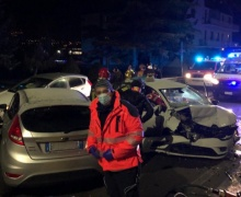 Incidente stradale a Gressan