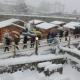 Aosta, mercatini di Natale chiusi a causa della neve