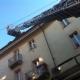 Aosta, sospetto incendio nel centro: interviene il 115